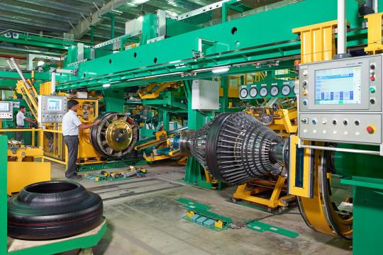 Tyre manufacturing unit in Oragadam