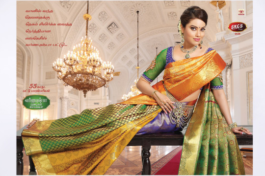 Traditional Silk Sarees | Advertising Photography