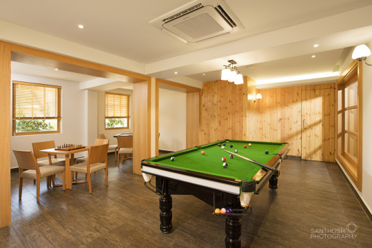Architecture Photography - Snooker Hall