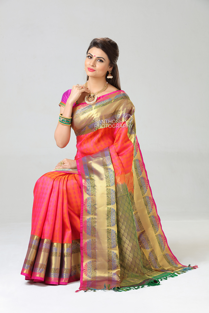 Silk Saree Photoshoots