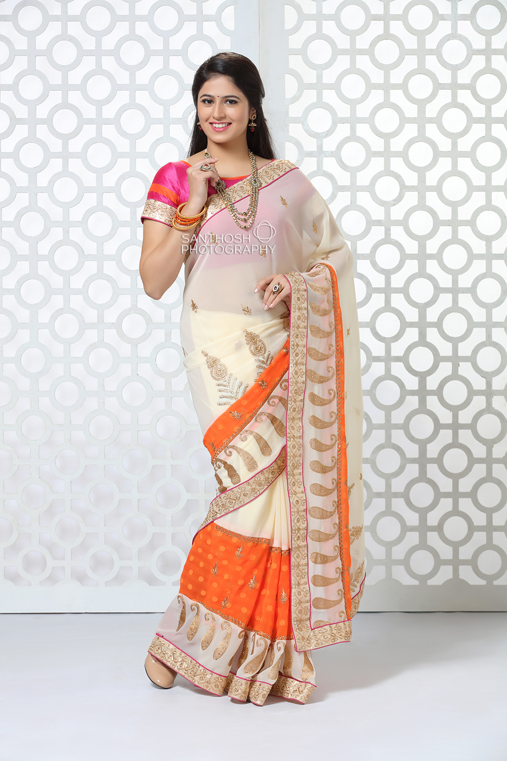 Kanchipuram Silk Saree Photoshoot