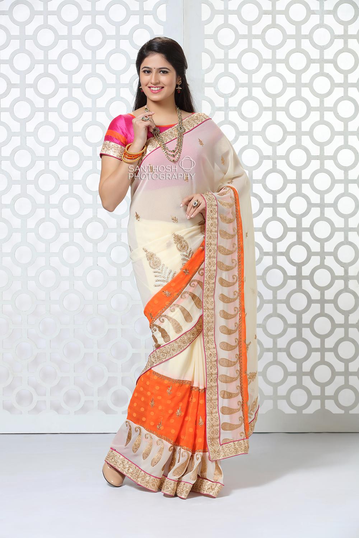 Kanchipuram Silk Saree Photoshoot